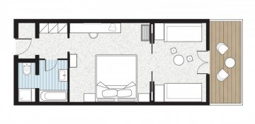 Paradiso Family Bungalow (50 m²)