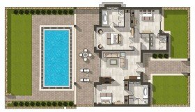 Three Bedroom Deluxe Suite Private Pool