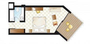 Double Room Garden View (28 m²)