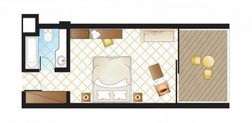 Superior Room Sea View (28 m²)