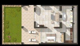 One Bedroom Bungalow Suite Private Garden