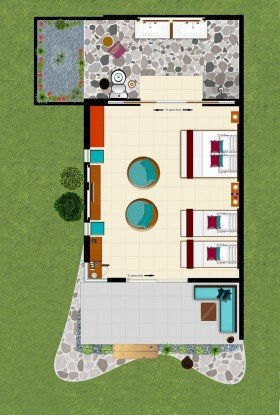 Family Suite Rooms (90 m²)
