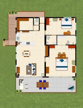 Penthouses (205 m²)