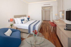 V Level Deluxe Family Apartment with Terrace Seaside