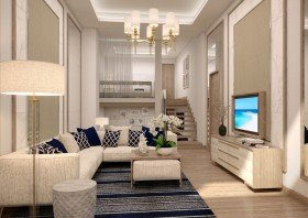 Luxury Pool Two bedrooms Loft Villa