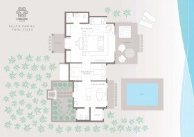Beach Family Pool Villa (250 m2)