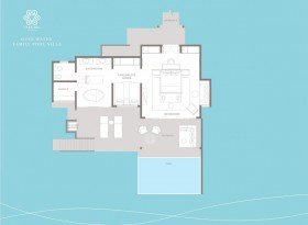 Overwater Family Pool Villa (162 m2)