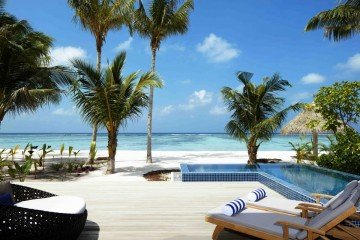 Two Bedroom Family Beach Villa with Private Pool (355 m2)