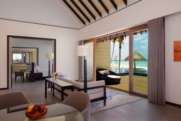 Two Bedroom Beach Suite Villa with Private Pool (370 m2)