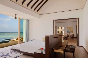 Three Bedroom Overwater Villa with Private Pool (350 m2)