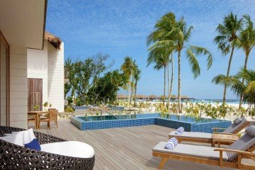 Three Bedroom Family Beach Villa with Private Pool (355 m2)