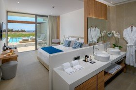 Double Room Private Pool Sea View