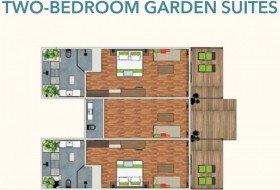 Two-Bedroom Garden Suite