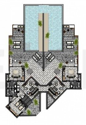 Luxury Three Bedroom Residence