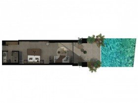 Sapphire Sublime Open Plan Suite With Swim Up Pool