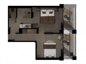 Sapphire Sublime 1 Bedroom Suite