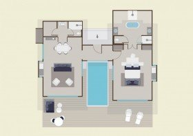 Pool Suite Beach Villa