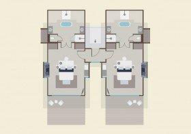 Two-Bedroom Family Beach Villas