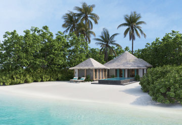 Beach Suite with Infinity pool (Kihaa Luxury Collection)