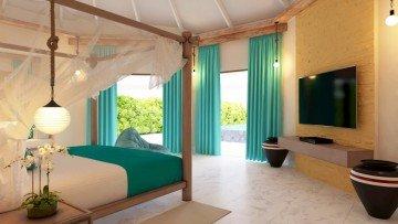 Prestige Beach Suite with Infinity Pool (Kihaa Luxury Collection)