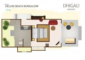 Deluxe Beach Bungalow