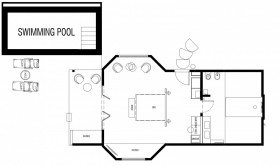 Beach Suite with Pool (70 m²)