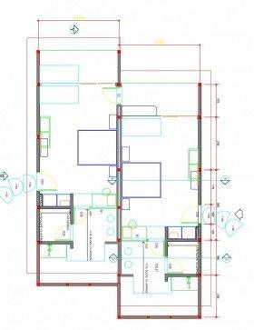 Family Beach Villa /* (100 m²)