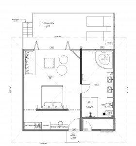 Lagoon Suite (70 m²)