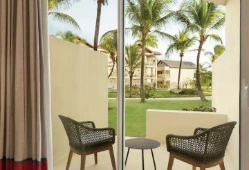 Garden View with Two Double Beds (Adults Only)
