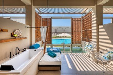 Upbeat Retreat Pool View with Plunge pool