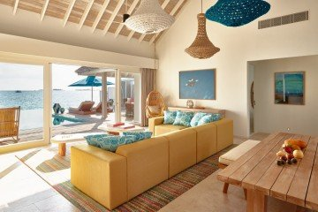 Two Bedroom Water Villa with Pool