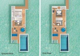 Duplex Lagoon Pool Villa