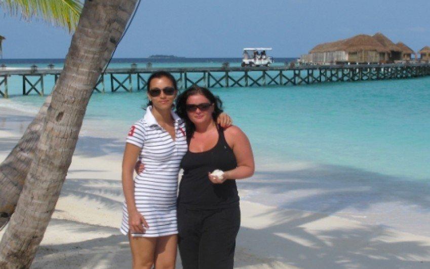 Maledivy, červenec 2011