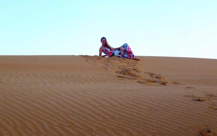 Dubaj mega fam trip - september 2014, Rebeka