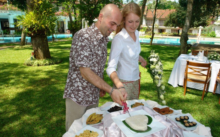 Jindřiška Jelínková - svatba Srí Lanka 2009