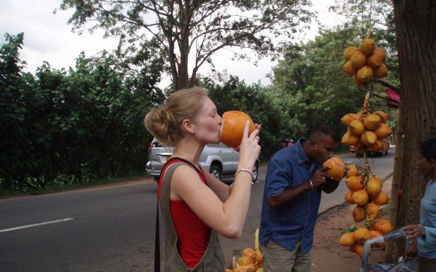 Cesta po Srí Lance - Jindřiška, duben 2009