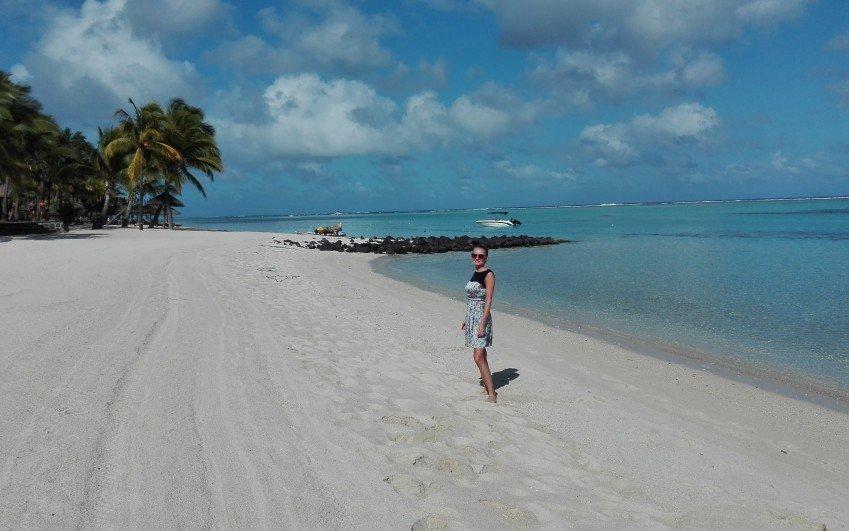 Inspekční cesta Karolíny Fronové na Maurícius v září 2015