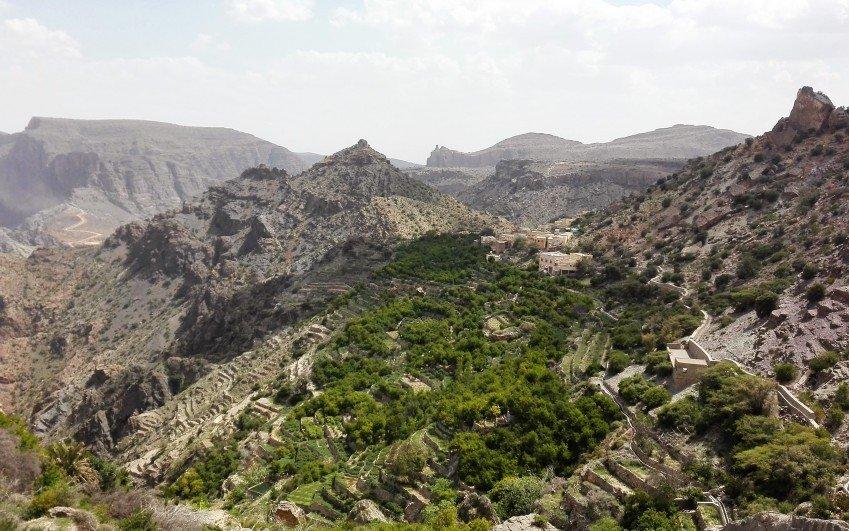 Inspekční cesta Karolíny Fronové do Ománu v dubnu 2016