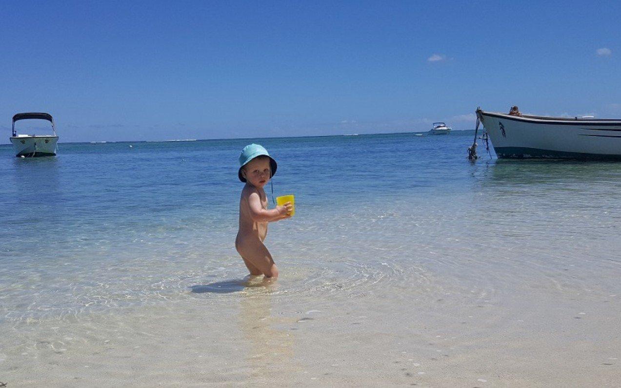Maurícius potřetí tentokrát ve třech - cestování s dětmi