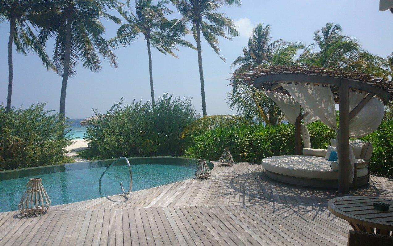 Na skok na Maledivách 2018