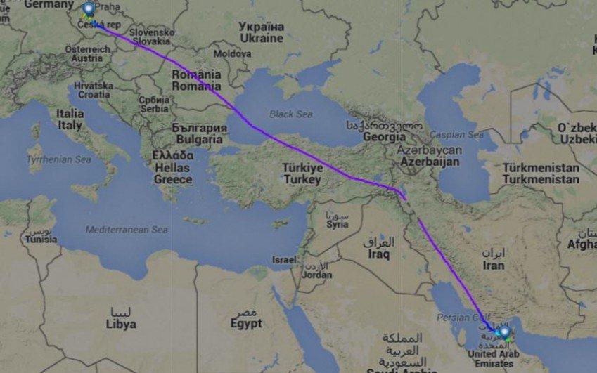 Letadla EMIRATES nelétají nad územím Syrie a Iráku
