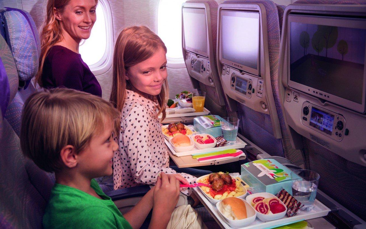 Rodiny s dětmi a letenky v business třídě