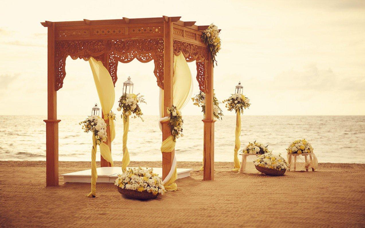 Svatba na Srí Lance