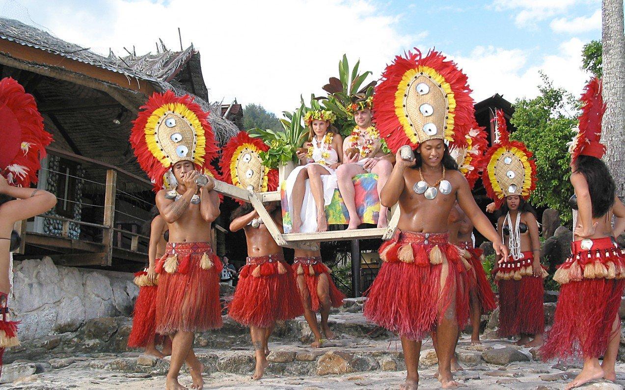 Svatba v Polynésii